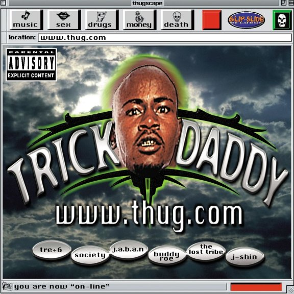 Album cover of www.thug.com by Trick Daddy