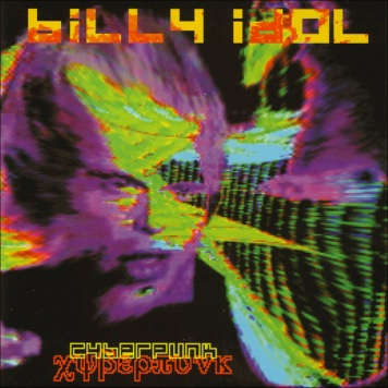 Album cover for Billy Idol's Cyberpunk