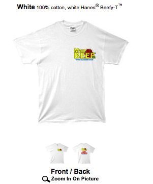 A ManBeef t-shirt