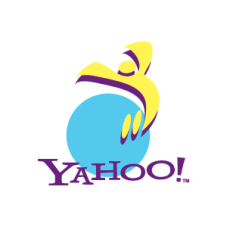 """Jumping guy"" Yahoo! logo used in 1995."