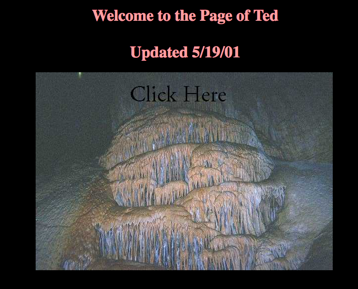 Ted's Caving Page