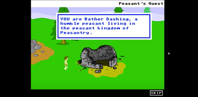 Screenshot from Peasant's Quest